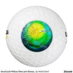 Good Luck Wilson Ultra 500 Distance Golf Ball Pack Of Golf Balls