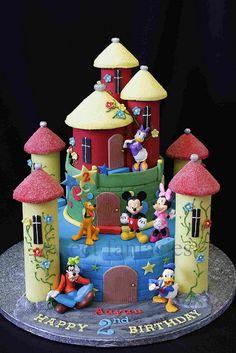 Disney Club House Castle by www.sweetfantasies, via Flickr