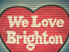 Brighton Love Win your dream city break with i-escape Coggles Brighton Pride, Brighton Belle, Brighton Museum, Brighton Rock, Brighton England, Brighton And Hove, British Seaside, Dream City, My Town