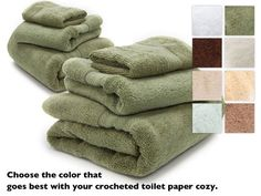 Never underestimate a great set of white fluffy clean towels.  Or other color...for that matter