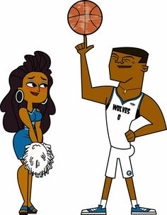 Basketball Couples, Basketball Art, Nigerian Nightmare, Anne Maria, O Drama, Total Drama Island, Black Girl Aesthetic, Cute Cartoon Wallpapers, Drama Series