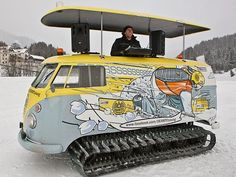 The snow mobile