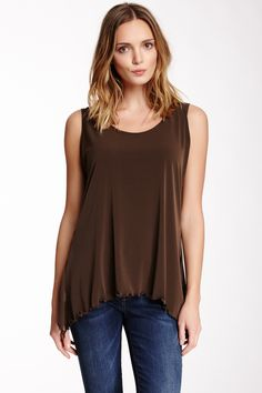 Planet Matte Jersey Tank - completely casual!