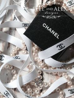 5 Yards Coco Chanel Inspired CC Twill Ribbon Bridal Shower, Engagement Party, Wedding, Chanel Party Decor Party Favor on Etsy, $14.99