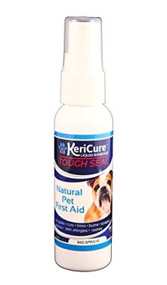 Robust Seal Spray On Liquid Bandage for All Pets' Scorching spots, Rashes, Itching and An infection Safety - KeriCureTM Robust SealTM Liquid Bandage KeriCure'sTM Robust SealTM Liquid Bandage helps velocity the pure therapeutic course of after cuts, scorching spots, bites, scrapes, burns, wounds, abrasion and lesions. Formulated and to be used on small and enormous pets, Robust Seal is a...