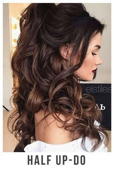 30+ Incredible Hairstyles for Thin Hair - Half up-do - BelliaBox