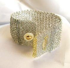 The Beading Gem's Journal: Awesome Crochet Wire Jewelry by Zircon Jewels