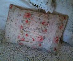 Rachel Ashwell Simply Shabby Chic Floral Silk Lace Boudoir Throw/Toss Pillow #RachelAshwellShabbyChic #Boudoir