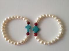 pulseras de perla