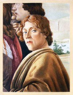 Sandro Boticelli - Self portrait.