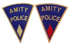 Pin for Later: Your New Jacket Is Crying Out For 1 of These Pop Culture Patches Jaws Fandom CSN Amity Police Patch Set (£7)
