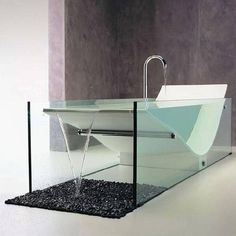 Merveilleux 6 Cool, Clear Bathtubs | Spot Cool Stuff: Design | Interior | Pinterest |  Bathtubs, Tubs And Glass Bathtub