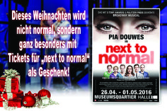 NEXT TO NORMAL Wien www.next-to-normal.at
