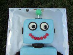 Robot Cake - Top