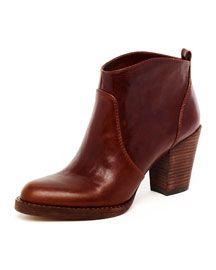 Wish my whole closet was KORS. Michael Kors  Wayland Short Leather Boot