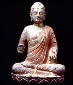 64 x 40 x 35 cm. Photo © The State Administration of Cultural Heritage, People's Republic of China Buddhist Meditation, Buddhist Art, Buddhism, Stone Sculpture, Discovery, Sculptures, Carving, Museum, Statue
