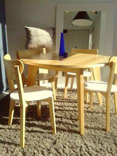 Presentamos la nueva mesa #Stick con tapa redonda. Vení a conocerla al local de Palermo: Thames 1373. #Unimate