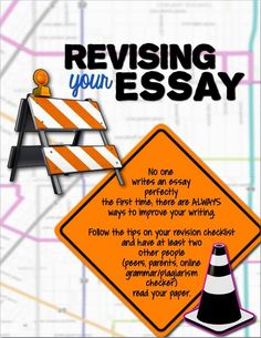 Revising your essay: includes checklist for revision along with other informative/explanatory writing resources: http://www.teacherspayteachers.com/Product/Informative-Explanatory-Writing-Common-Core-Bundle-1645518