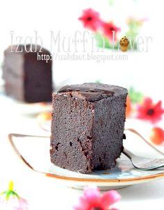 Izah Muffin Lover: Kek Coklat Milo Kukus