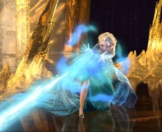 Elsa's powers in attack mode
