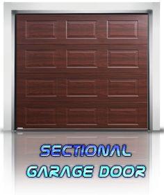 3d sectional door