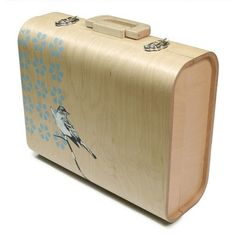 walizka drewniana