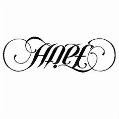 HOPE/FAITH tattoo....very possible....where to put it is the question
