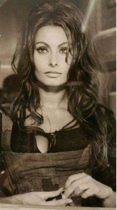 Sophia Loren - could she be any more beautiful! Sophia Loren - could she be any more beautiful! Vintage Hollywood, Hollywood Glamour, Hollywood Stars, Divas, Classic Beauty, Timeless Beauty, Carlo Ponti, Italian Actress, Italian Beauty
