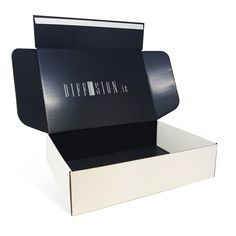 Diffusion branded commerce box #packaging #jjotoole #ecommercepackaging Ecommerce Packaging, Corrugated Box, Box Packaging, Diffuser