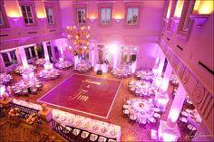 What a grand venue for a wedding reception! #rubyhillweddings