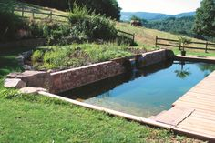 Natural Pools or Swimming Ponds Garden Pool, Water Garden, Spas, Swiming Pool, Natural Pond, My Pool, Dream Pools, Pool Houses, Pool Designs