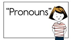 Pronouns by Readeez. We had a request for some parts of speech Readeez. This ones for you, Ripley Primary School students!