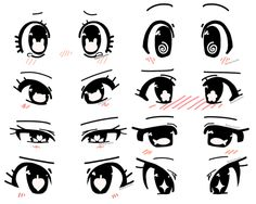 eye shapes drawing 208573026473346627 - Anime eye shape ideas by RockuSocku on DeviantArt Source by lalacassiano Cartoon Eyes Drawing, Drawing Anime Bodies, Cute Cartoon Eyes, Drawing Faces, Manga Drawing, Anime Drawings Sketches, Cute Drawings, Pencil Drawings, Hipster Drawings