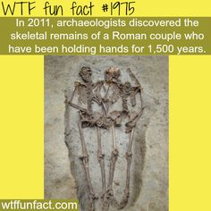 Roman couple holding hands for 1500 years -WTF fun facts