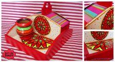 Decoupage, Advent Calendar, Holiday Decor, Buenas Ideas, Beatles, Home Decor, Love, Painted Trays, Decorated Boxes
