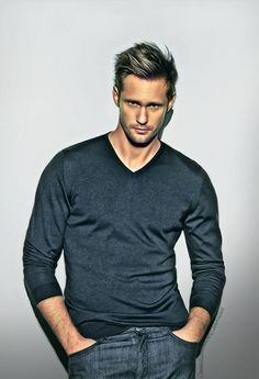 Alexander Skarsgard- I love you so please please please PLEASE DO NOT be Christian Grey.