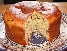 Panettone( Italian Christmas bread)