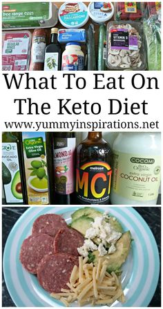What To Eat On A Ketogenic Diet - What you can eat on the low carb Keto Diet - top tips following a 17kg/37lbs weight loss.
