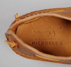 "RANCOURT & CO.: ""Hippie Shoe"" Moccasins, Plainsman Brown Chromexcel Leather, Hickoree's Exclusive"