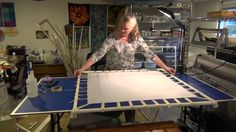 Making PVC Frame-Silk Painting Part 2