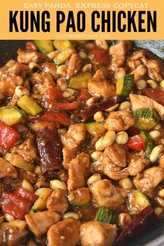 Best and easy Kung Pao Chicken Recipe- Panda Express Copycat savorybitesrecipes kungpaochicken chicken chinese takeoutmenu dinnerrecipes 525091637804277119 Kung Pao Chicken Recipe Easy, Chicken Recipes Juicy, Sauce For Chicken, Chicken Chunks, Kung Pao Chicken Recipe Panda Express, Chinese Chicken Sauce, Chinese Food Recipes Chicken, Express Chicken, Chicken