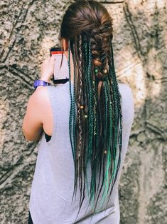 Dread Braids, Hippie Braids, Viking Braids, Box Braids, Dreadlock Hairstyles, Braided Hairstyles, Wedding Hairstyles, Black Hairstyles, Viking Hairstyles