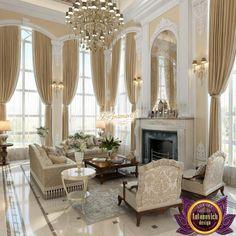 beautiful villa design in Kenya from Luxury Antonovich Design Luxury Rooms, Luxury Homes Interior, Luxury Decor, Luxury Living, Luxury Villa, Classic Living Room, Elegant Living Room, Formal Living Rooms, Villa Design