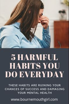 Learn what toxic habits are and how they negatively impact your mental health. Learn how you can combat them to improve your mental health and boost your self-esteem. Toxic habits stop you with a negative mindset. Tackle these habits and become successful. #toxic #toxichabits #habitsofsuccessfulpeople #habitsforsuccess #habitsofhealth #mentalwellness #mindset #mindfulness #intentionally