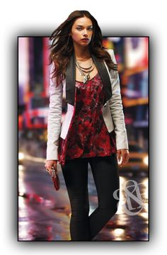 Dress Up Leggings With A Blazer And Booties Rock