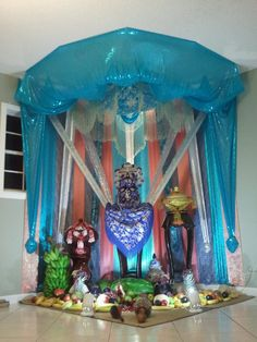 Image and Throne Display © 2012 Rivelinho Bolivar Image cannot be reproduced without permission. Orisha, Some Image, Lorde, Religion, Ocean, Display, Artist, Yoruba Religion, Billboard