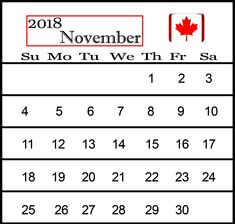 November 2018 Calendar Printable Templates In Ms-Word 2018 Calendar Template, Excel Calendar, Printable Blank Calendar, Printable Templates, Free Printables, Calendar Wallpaper, Ms, November, Holiday