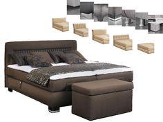 Oschmann Prestige Boxspringbett Bett für Schlafzimmer Größe Stoffgruppe wählbar | eBay