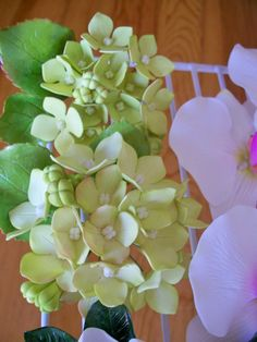 Sugar hydrangeas - Teacup, fine baked goods and confections