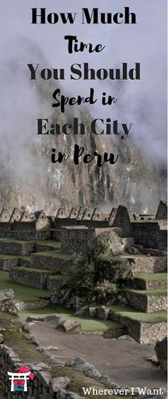 Lima, Nazca, Cusco, Puno, Arequipa, Ica, and Huacachina